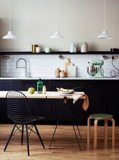 Kitchen #black