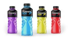 Powerade is a energy drink that helps restore electrolytes in our bodies when consumed. This would be beneficial for Hank on hot days.