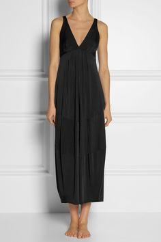 Donna Karan Sleepwear - Satin-jersey nightdress 6da9770e1