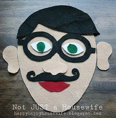 The felt face game is a homemade travel activity to make and use with your kids.