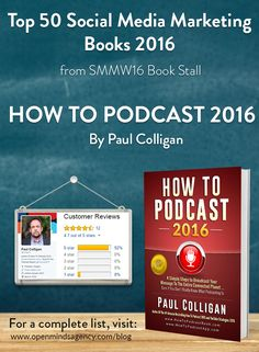 Top 50 Social Media Marketing Books 2016 - from SMMW16 Book Stall How To Podcast 2016: @paulcolligan For a complete list [Click on image] #omagency #smmw16 #books