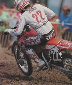 Jean Michel Bayle - 250 Supercross ,250 outdoors and the 500 outdoors champion.