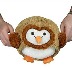 Mini Squishable Barn Owl