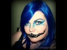▶ HALLOWEEN TUTORIAL: Cheshire Cat Grin - YouTube