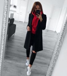 How To Wear: Best Casual Outfit Ideas 2019 - Wewer Fashion Winter Fashion Outfits, Look Fashion, Spring Outfits, Womens Fashion, Feminine Fashion, Fashion Trends, Cute Casual Outfits, Simple Outfits, Fashionable Outfits