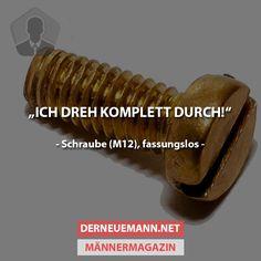 Schraube (fassungslos) #derneuemann #humor #lustig #spaß                                                                                                                                                     Mehr
