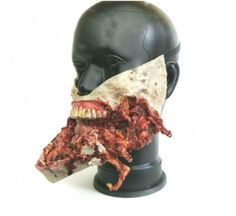 Zombie Halloween Mask, Halloween mask, exploded mouth zombie, walking dead mask,zombie mask,gore,lat #mouthmask #Dead #exploded #Halloween #mask #maskgorelat #maskzombie #Mouth #mouthmaskhalloween #walking #Zombie