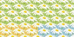 3 Fresh Spring Daisy Seamless Pattern Set JPG - http://www.welovesolo.com/3-fresh-spring-daisy-seamless-pattern-set-jpg/