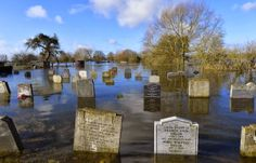 Bodies being stockpiled as flooded graveyards become too dangerous