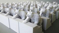 Bears on stairs | Stopmotion video door middel van 3D printing