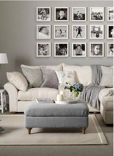 Photo Wall Ideas & Inspiration - The Idea Room