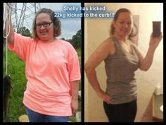 """From Shelley: """"My biggest accomplishment ever! 50 pounds DOWN!"""