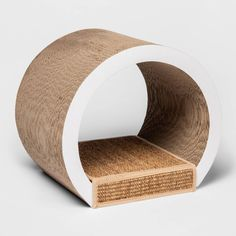 Provide your feline friend a safe place to scratch and help protect your furniture from scratch marks with the Tunnel Cat Scratcher from Boots and Barkley™. Made from cardboard and featuring a corrugated design for durability and lasting use, this cat scratcher features a sisal scratching surface to provide them a convenient spot that's fun and safe to scratch. Designed in the shape of a tunnel, this corrugated cat scratcher adds fun to their play time and also doubles as a quick spot for… Cat Online, Cat Playground, Cat Scratcher, Cat Room, Love Your Pet, Outdoor Cats, Pet Costumes, Cat Tree, Cat Furniture