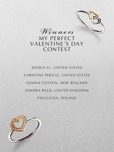 Thank you to all of you for participating in our Valentine's contest. We received so many stunning boards and it was a tough job selecting the winners. Congratulations to our five winners. They have all been contacted directly by email. #PANDORAvalentinescontest