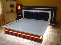 Pooja Room Door Design, Room Design Bedroom, Bedroom Sets, Bedroom Decor, Contemporary Bedroom, Modern Bedroom, Stylish Bedroom, Bedroom Furniture, Furniture Design