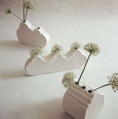 "cara bauermeister ceramics on Instagram: ""Gable vases for Babylonstoren #carabauermeisterceramics #tulbaghia #capewinelands #stellenbosch #franschoek #paarl #capetownwinelands"""