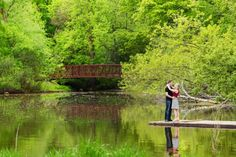 Scenic Engagement Photo - Troy St. Louis Photography