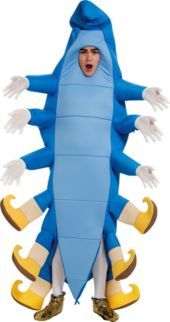 Homemade caterpillar absolum costume so cute and clever Cool