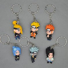 Great Eastern Naruto Shippuden SD Kakashi PVC Keychain Authentic USA Seller