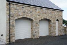 90% Donegal Sandstone & 10% Blue Centre Sandstone mix - Coolestone Stone Importers Suppliers Masonry Tyrone Northern Ireland House Designs Ireland, Window Reveal, Mint Walls, Sandstone Wall, Stone Masonry, Curved Walls, Donegal, Garden Structures, Northern Ireland