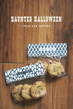 Printables: Halloween Treat Bag Toppers