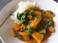 Quick Creamy Vegetable Curry - I just can't get enough. Sweet potato addict!