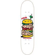 "Polar HH Pig Mac Skateboard - 8.50"""
