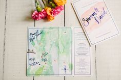 Wedding Maps, Wedding Cards