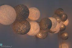 • lampy - lampki cotton ball lights księżycowy blask - Qule