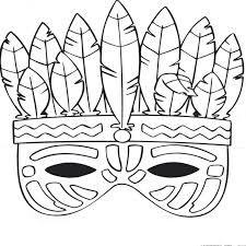 Risultati immagini per maskers knutselen