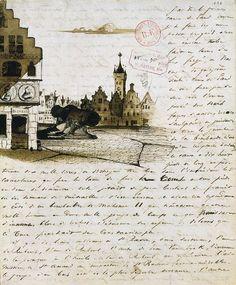 Victor Hugo à sa femme - 1837