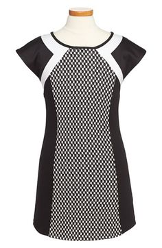 Sally Miller Check Blocked Dress (Big Girls) available at #Nordstrom