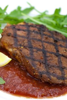 Marinated and Grilled London Broil with Emeril's Homemade Steak Sauce Recipe