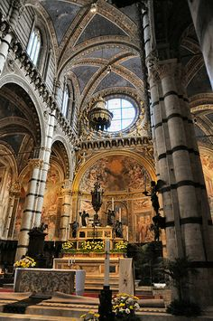 Siena Duomo Cathedral - Inside Italy