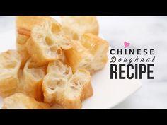 Easy Chinese Doughnut Recipe (Crisp Fried Breadstick)   油條  Yóutiáo
