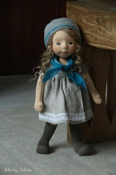 Mia waldorf inspired doll by Julilale