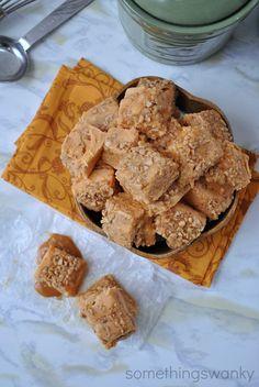 Pumpkin Praline Fudge #pumpkin #fudge #dessert