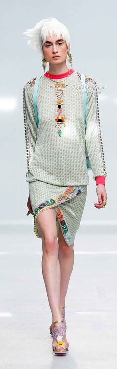 Manish Arora Spring 2014    The House of Beccaria
