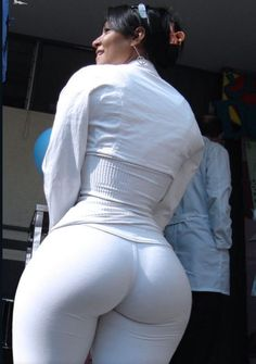 Huge Ass Tight Pants 110