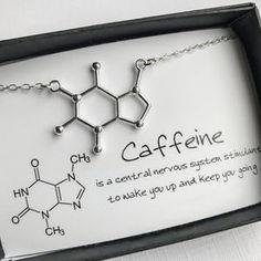 Caffeine Molecular Necklace