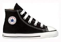 Converse Chuck Taylor All Star Hi Top Toddlers Black Converse. $26.99