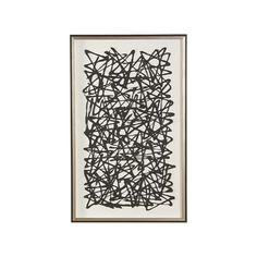 Black Paper Art - Ethan Allen