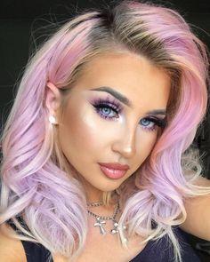 Pastel Hair, Pink Hair, Blue Hair, Candy Hair, Hair Addiction, Coloured Hair, Dream Hair, Rainbow Hair, Hair Today