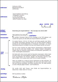 Slikovni rezultat za Briefe schreiben Deutsch