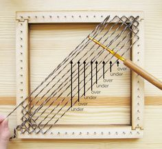 Square Pin Loom Speed Weaving 2019 Square Pin Loom Speed Weaving The post Square Pin Loom Speed Weaving 2019 appeared first on Weaving ideas. Weaving Loom Diy, Pin Weaving, Loom Craft, Tablet Weaving, Weaving Art, Spool Knitting, Loom Knitting Projects, Weaving Projects, Diy Projects