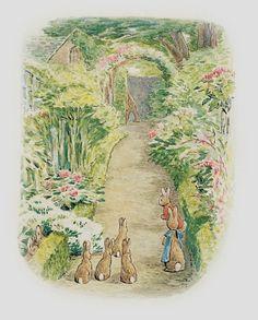 Peter Rabbits Beatrix World Wallpaper