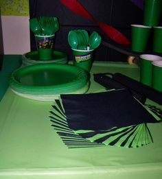 Teenage Mutant Ninja Turtles Birthday Party Ideas | Photo 29 of 39 | Catch My Party