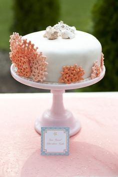 Sea Coral Cake