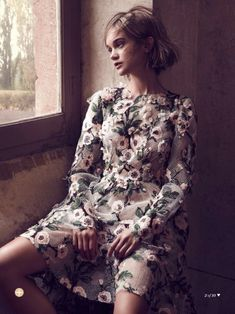 """""""Художник и муза"""" - Рози Таппер в Marie Claire Australia"""