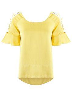 Compre Le Lis Blanc Blusa com recortes em Restoque from the world's best independent boutiques at farfetch.com. Compre em 400 boutiques em um único endereço.